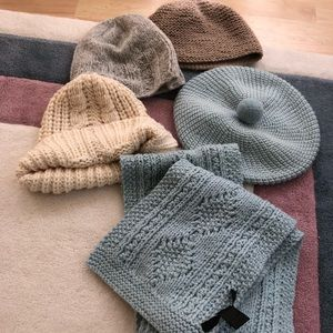 Marc Jacobs hat, Marc Jacobs scarf extra hats